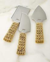 Michael Aram Palm Cheese Knives, Set of 3