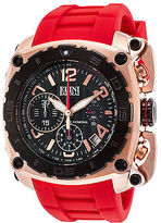 Elini Barokas 20010-RG-01-BB-RDS Men's The General Chronograph Red Silicone
