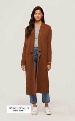 Soia & Kyo ANNABELLA straight-fit sustainable coatigan