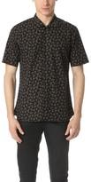 The Kooples Bandana Print Short Sleeve Shirt