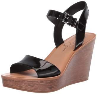 Jessica Simpson Women's Miercen Wedge Sandals Black
