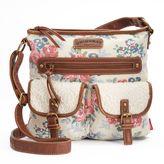 UNIONBAY Flower Lace Crossbody Bag