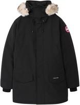 Canada Goose Langford Black Fur-trimmed Parka