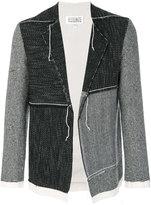 Maison Margiela - panelled cardi-jacket