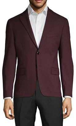 Calvin Klein Solid Slim-Fit Sportcoat