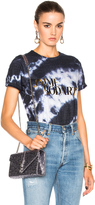 Rodarte Love Hate Foil Crystal Tie Dye T-Shirt