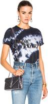 Rodarte Love Hate Foil Crystal Tie Dye T-Shirt