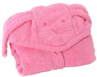 Minene Puppy Hooded Baby Bath Large Towel 80x135cm, 0-6 years old, Pink