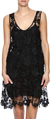 Twos Company Two's Company Black Lace Dress