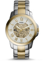 Fossil Grant Automatic Two-Tone Watch