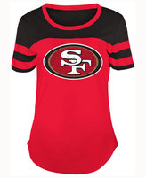 5th & Ocean Women's San Francisco 49ers Limited Edition Rhinestone T-Shirt