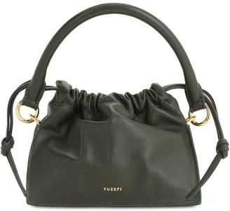 Yuzefi Mini Bom Leather Top Handle Bag