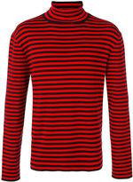 Gucci striped turtleneck top - men - Cotton - M