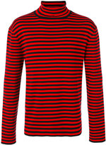 Gucci striped turtleneck top - men - Cotton - S