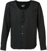 Comme des Garcons scoop neck shirt - men - Cotton - M
