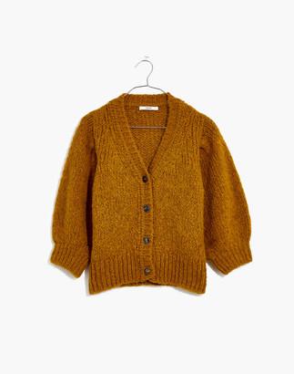 Madewell Sessun Haylie Short-Sleeve Cardigan Sweater