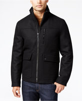 Nautica Men's Wool-Blend Bomber Jacket