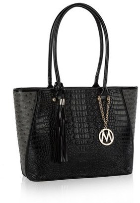 Mkf MKF Collection by Mia K. Adore Textured Tote Bag