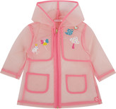 Billieblush Billie Blush Teapot applique rain coat 9 months - 3 years