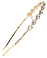 Tasha Skinny Pear Crystal Headband