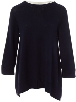 The Row Navy Cotton Knitwear for Women