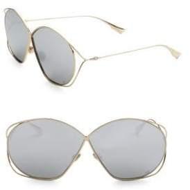 Christian Dior DiorStellaire2 68MM Wire Sunglasses
