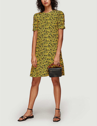 Whistles Georgina floral-print woven mini dress