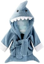 TRURENDI Baby's Cartoon Hooded Bath Towel Cotton Terry Toddler Kid Animal Bathrobe