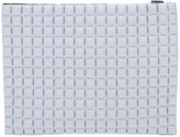 NO KA 'OI No Ka' Oi - textured zipped clutch - women - Polyamide/Spandex/Elastane - One Size