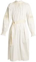 Tibi Cora embroidered cotton dress