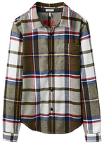 Joules Little Joule Boys' Junior Hamish Large Tartan Shirt, Multi