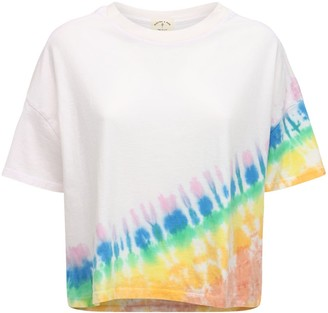 Electric & Rose Love Tie Dye Cotton T-shirt