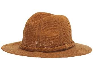 San Diego Hat Company KNH2004 Patterned Knit Fedora