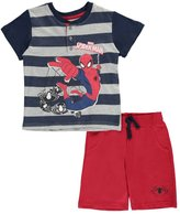 "Spiderman Little Boys' Toddler ""Spider Stripes"" 2-Piece Outfit"