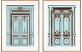 Eichholtz French Salon Doors Prints Set Of 2