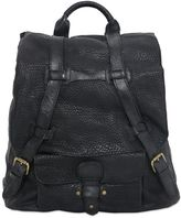 Officine Creative Textured Leather Backpack