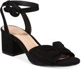 Aldo Beautie Two-Piece Block-Heel Sandals