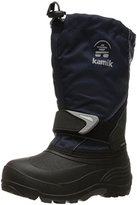 Kamik Sleet Snow Boot (Toddler/Little Kid/Big Kid), Navy, Little Kid