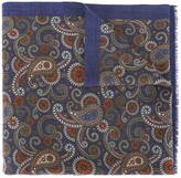 fe-fe paisley print scarf - unisex - Wool - One Size