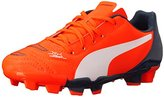 Puma evoPOWER 4.2 Firm Ground Jr Soccer Shoe
