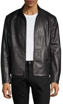 Saks Fifth Avenue Classic Leather Jacket