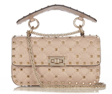 Valentino Rockstud mini quilted leather cross-body bag