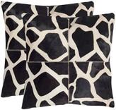 Safavieh Antonio 2-piece 22'' x 22'' Throw Pillow Set