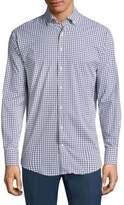 Peter Millar Plaid Cotton Casual Button-Down Shirt