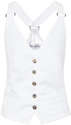 Max Mara Remo cotton waistcoat