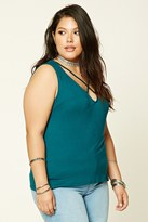 Forever 21 FOREVER 21+ Plus Size Strappy Tank