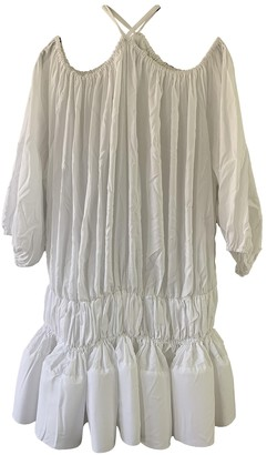 Marques Almeida White Cotton Dress for Women