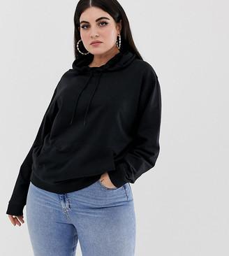 Asos DESIGN Curve ultimate hoodie in black