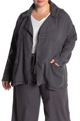 Caslon Open Front Utility Jacket