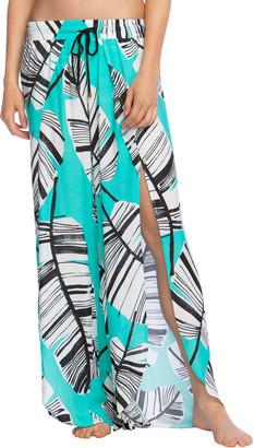 Trina Turk Cocacabana Split-Leg Beach Pants